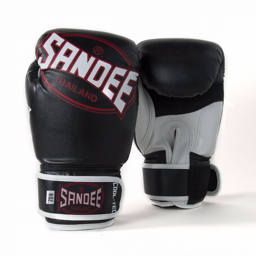 Sandee Kids Cool-tech Boxing Gloves black/red